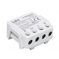 MODULO RICEVITORE MINIATURIZZATO PULSANTE SMART LIFE WIRELESS 2.4 GHZ 220-240V 50/60HZ INC.300W LED.