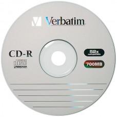 CD-R 80 MINUTI 700MB VERBATIM