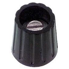 MANOPOLA COMPONIBILE SERRAGGIO A VITE 15x16mm COLORE NERO