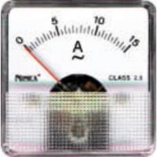 AMPEROMETRO 51x51 25,0A CA