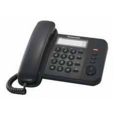 KX-TS520EX1B PANASONIC TELEFONO NERO