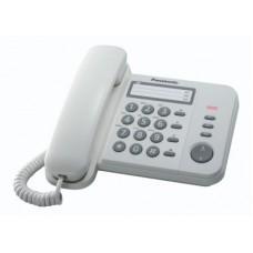 KX-TS520EX1W PANASONIC TELEFONO BIANCO