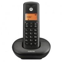 E201 MOTOROLA TELEFONO CORDLESS COLORE NERO