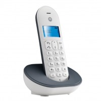 T101 MOTOROLA TELEFONO CORDLESS COLORE GRIGIO/BIANCO