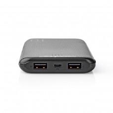 POWERBANK 10000MAH 5V CON 3 PORTE USB 3.0A/2.1A/1.0A