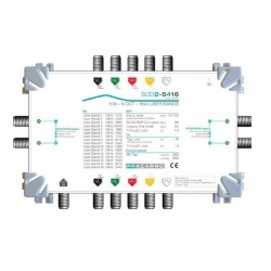 SCD2-5416W FRACARRO MULTISWITCH 5 INGRESSI 4 USCITE DCSS