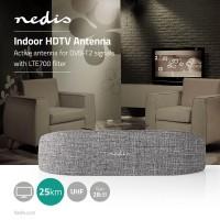 ANTENNA INTERNA AMPLIFICATA DVB-T/T2 GUADAGNO 28DB FM/VHF/UHF