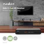DVBT2265 NEDIS DECODER DVB-T2 HD DA TAVOLO CON USB