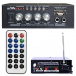 PLS1250USB-RC PARTY AMPLIFICATORE STEREO KARAOKE BLUETOOTH FM TELECOMANDO