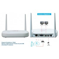 KIT VIDEOSORVEGLIANZA NVR 4 CANALI WIRELESS,4 TEL.2MPX 1080P WIRELESS