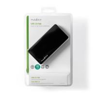 HUB USB2.0 4 PORTE ALTA VELOCITA' CON ALIMENTATORE