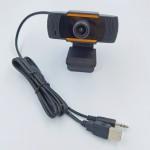WEBCAM USB HD 1280x720 CON SUPPORTO A PINZA SENSORE CMOS E MICROFONO ORIENTABILE