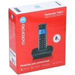 T401 MOTOROLA TELEFONO CORDLESS COLORE NERO