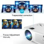MKV4600HD MKC VIDEOPROIETTORE HD 720P LCD/LED 4600 LUMEN CONTRASTO 5000:1