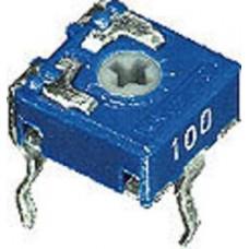 TRIMMER MINI 100 OHM PASSO 5mm VERTICALE