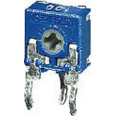 TRIMMER MINI 100 OHM PASSO 5mm ORIZZONTALE